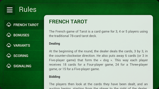 French Tarot - Free  screenshots 16