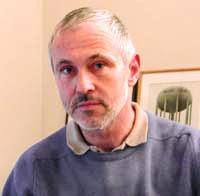 Photo: Philippe Morillon en 2001, illustrateur, photographe, directeur artistique, artiste.