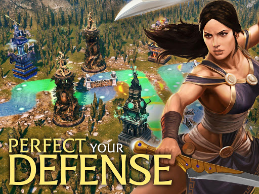 Olympus Rising: Tower Defense and Greek Gods apkpoly screenshots 11