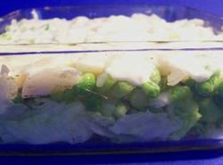 Layered Pea Salad Recipe