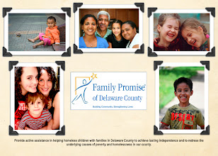 Photo: Family Promise of Delaware Marketing Postcard - front