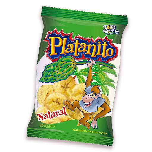 snack platanito granmarca salado 125gr