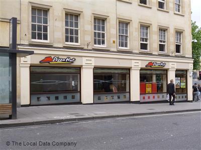 Pizza Hut On Westgate Buildings Restaurant Pizzeria In
