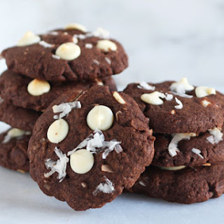 Chocolate Coconut Cookies.