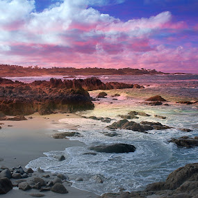 Kauai by Fabienne Lawrence - Landscapes Waterscapes ( seascape, 17 mile drive, california, water, landscape )