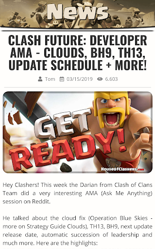 Guide for Clash of Clans CoC 2.0.22 screenshots 2