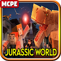 Abandoned Jurassic World (Fallen Kingdom)for MCPE icon