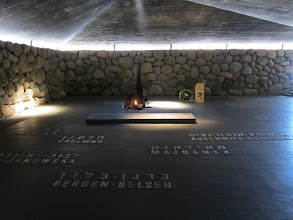 Photo: Shoah memorial at Yad Vashem