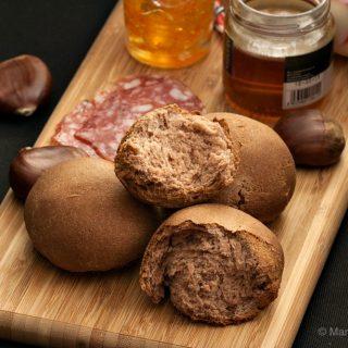 Chestnut Bread Rolls Recipe