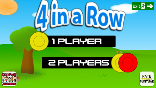 4 in a line - connect 4 Screenshot