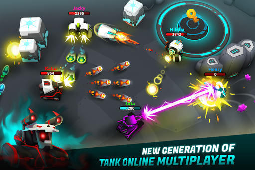 Tank Raid Online Premium game for Android screenshot