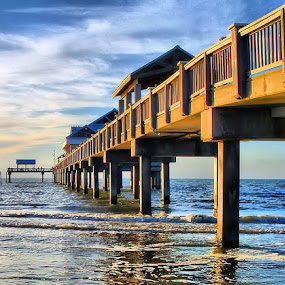 Pier Perspective by Terry Davey - Buildings & Architecture Other Exteriors ( pier )