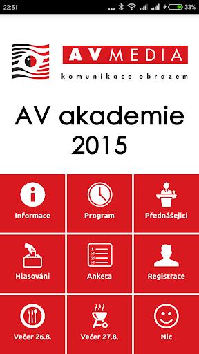 AV akademie 2015