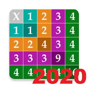 Multiplication Table 2020: Voice Guide - Speaking