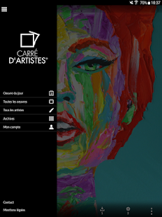 Carré d'artistes- screenshot thumbnail