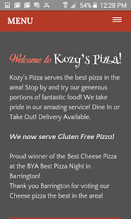 Kozy's Pizza- screenshot thumbnail
