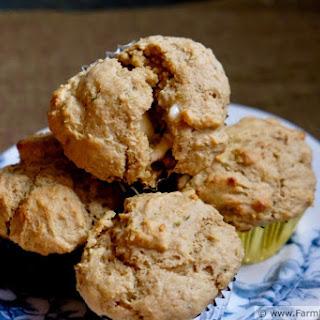 Garlic Scape Pesto and Ricotta Muffins Recipe