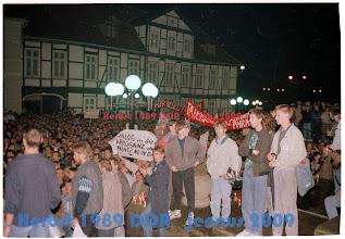 Photo: Dialog in der Arroganz der Macht - Nein Danke