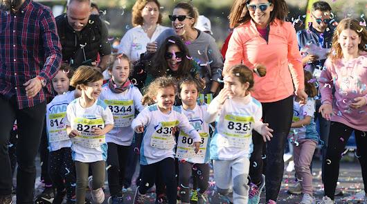 Los atletas del futuro en la XXIII Media Maratón