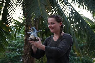 Photo: Spectacle à l'institut Français du Laos Luang Prabang - Laos Mai 2012