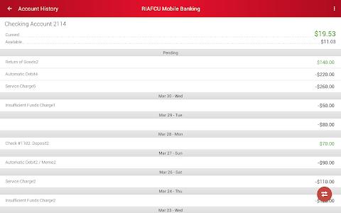 RIAFCU Mobile Banking screenshot 15