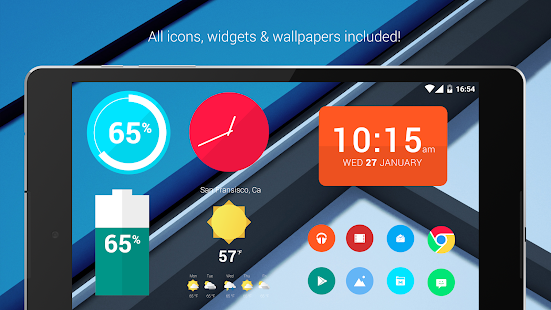 Materielle Dinge Lollipop Screenshot