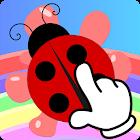 Fine Motor Skills Game 1+: Montessori Funny Bugs icon