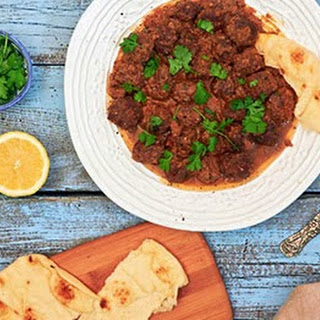 Moroccan Beef and Cremini Tagine