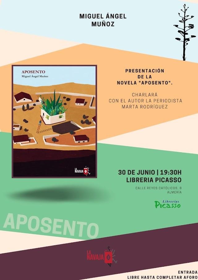Picasso Reyes Católicos acogerá este miércoles la presentación de la novela (Diseño: Alba Muñoz).