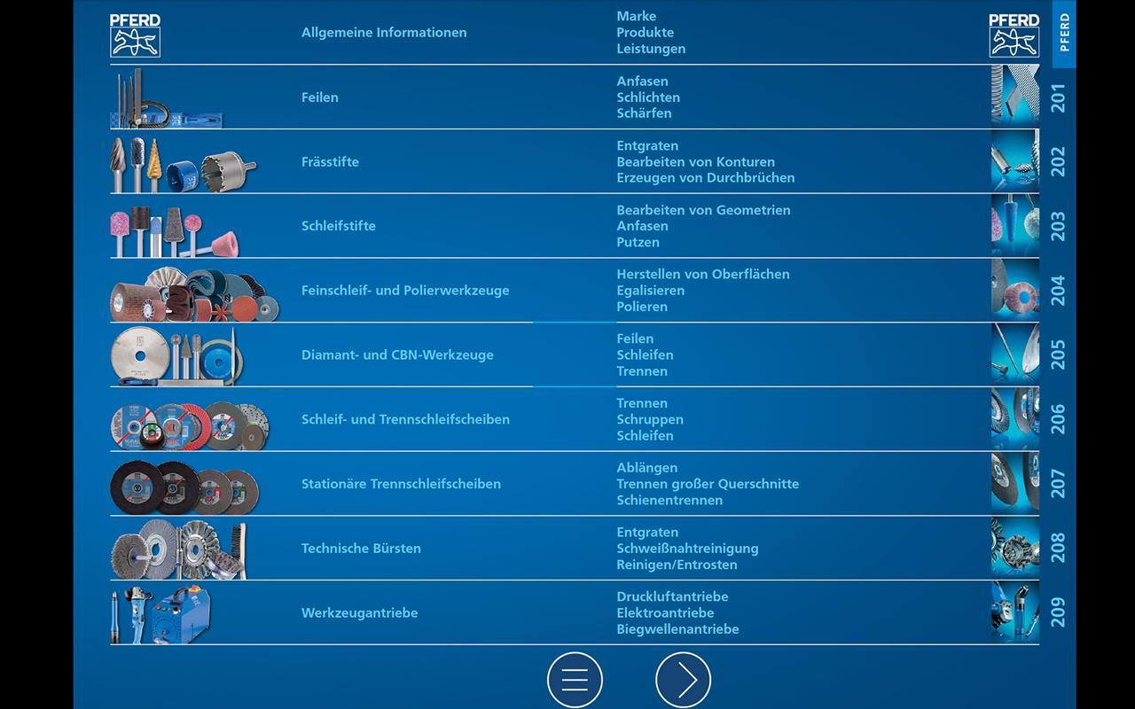 PFERD Werkzeuge (D) - screenshot