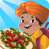 Kids Indian cooking game: masala recipes