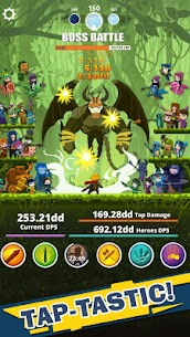 Tap Titans MOD APK (Unlimited Diamonds) 2