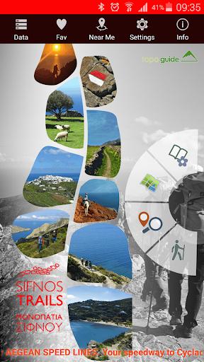 Sifnos Trails topoguide 2.8 screenshots 1