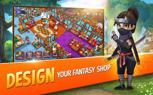 Shop Titans: Epic Idle Crafter, Build & Trade RPG 3.6.0 screenshots 1