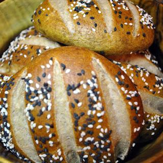 Whole Grain Pretzel Buns or Rolls.