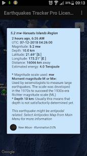 Earthquakes Tracker Pro 2.4.8 3