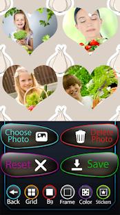 zelenina fotografie koláž - náhled