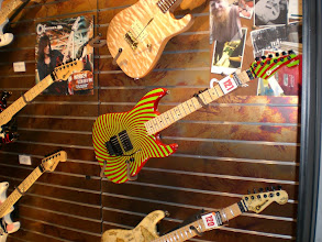 Photo: Charvel Guitars at the Fender booth
