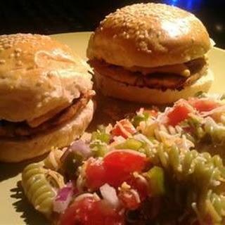 Teriyaki Chicken Burgers.
