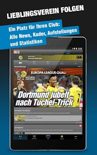 BUNDESLIGA bei BILD- screenshot thumbnail