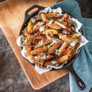 Loaded Potato Wedges.