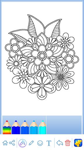 Mandala: Coloring for adults screenshots 12
