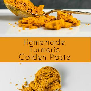 Homemade Turmeric Golden Paste