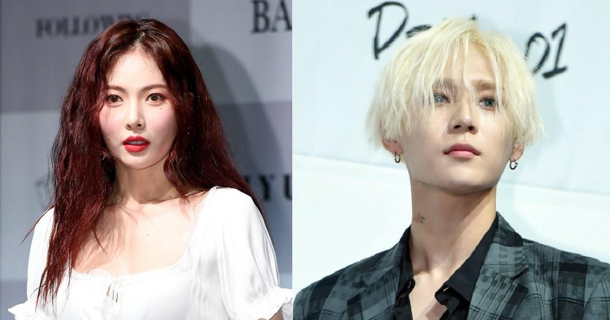 Hyuna pentagon edawn Jessi Reveals