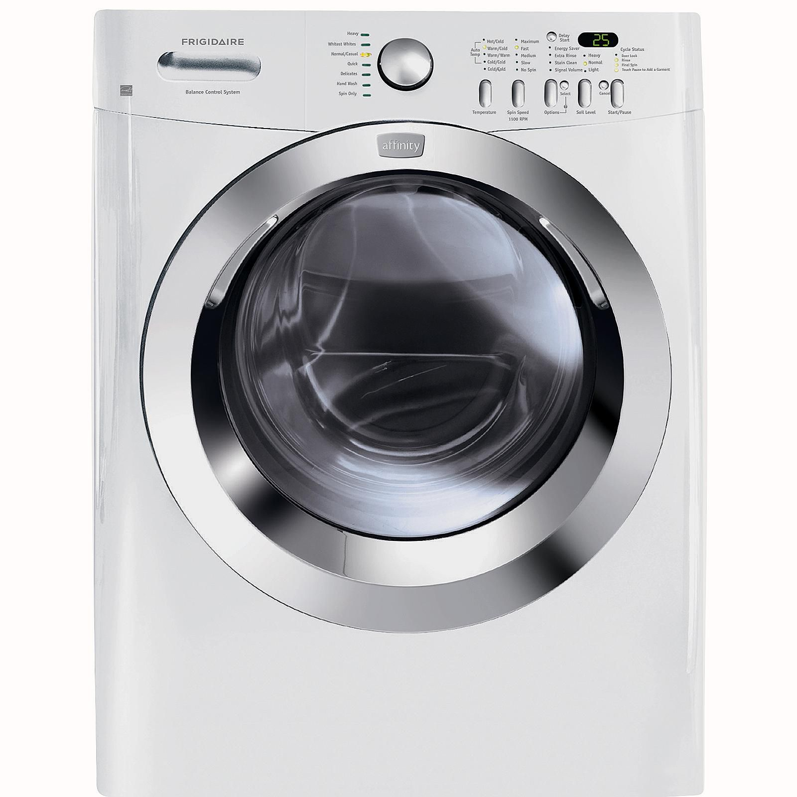 how to reset frigidaire washer