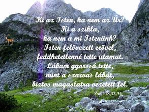 """Photo: """"Szikla a mi Istenünk"""" Biblia, SZIT 1996"""