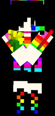 l edit skin Sadako become Is Dj girl rainbow and you be like it and thank you^_^