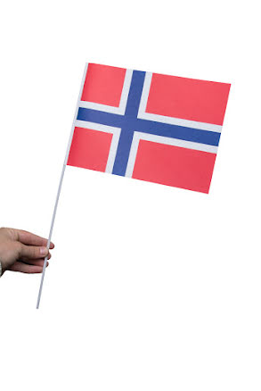 Pappersflagga, Norge