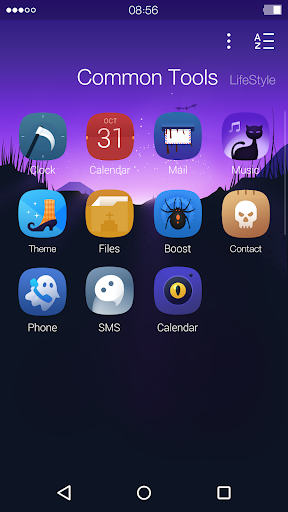 Halloween: DU Launcher Theme screenshot 2