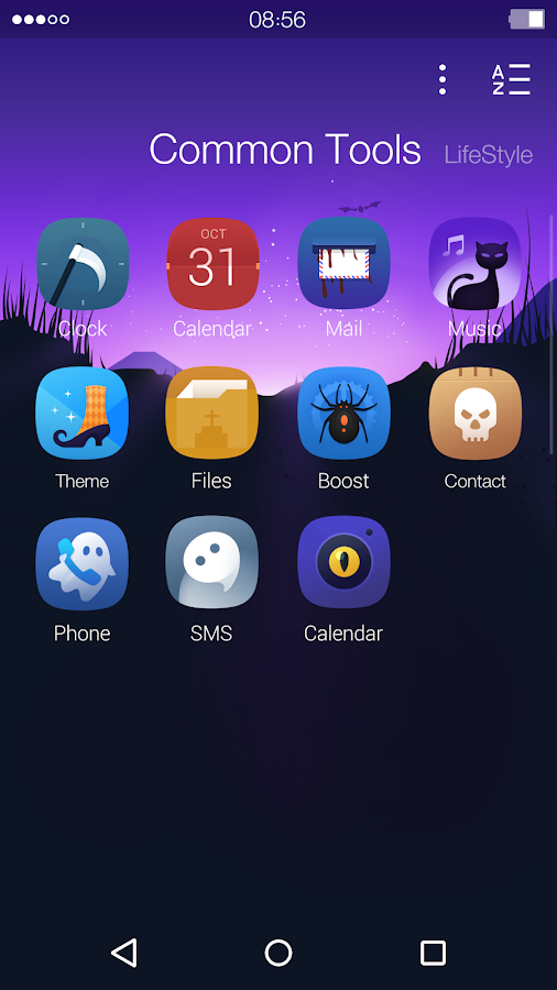 Halloween: DU Launcher Theme- screenshot
